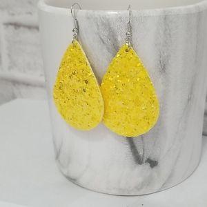 New 3/$20 Glitter Statement Earrings